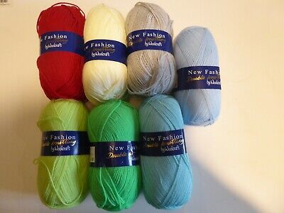 New Fashion DK by Woolcraft 100g Various Colours