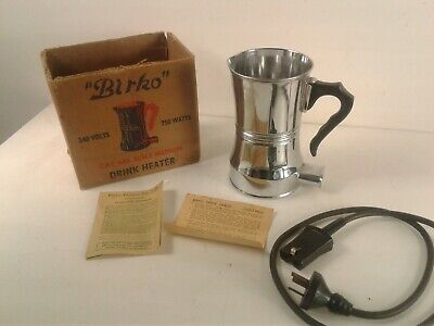 Vintage/retro Birko electric drink heater/kettle bottle sterilizing pot