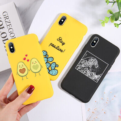 Luxury Silicone Cute Case Shockproof Cover For iPhone XS Max XR X 8 7 6 6s Plus