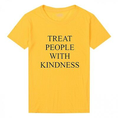 Harry Styles Treat People With Kindness Womens T-Shirt Fashion Printed Tee Tops
