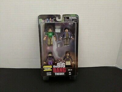 Entertainment Earth The Big Bang Theory Minimates Set 2 EE Exclusive Toys /""