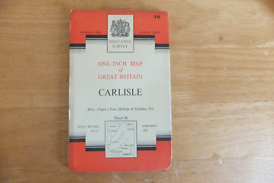 Ordnance Survey Map-One-Inch Of Great Britain-7Th Series-Paper Editions-Sheet 76