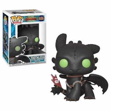 Figurine Funko Pop - 686 Toothless - Dragons - How To Train Your Dragon - Neuf