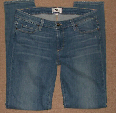 Jalate Womens Jeans Blue distressed boyfriend skinny size 18 16 14