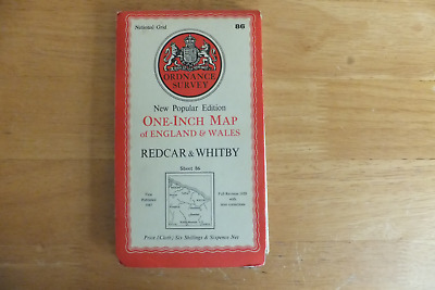 Ordnance Survey Map-One-Inch Of Great Britain-6Th Series-Cloth Editions
