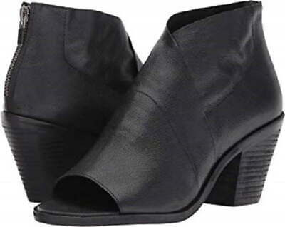 Women Western Arch Shaft Top Pointy Toe Ankle Boots 19170