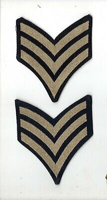 SOLD IN SINGLES ROYAL AIR FORCE RAF REGIMENT LANCE CORPORALS RANK INSIGNIA