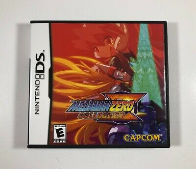 Mega Man Zero Collection (Nintendo DS, 2010) Complete - Fast Free Shipping