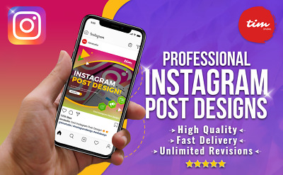 Professional Instagram Ad / Post Design - Unlimited Revisions