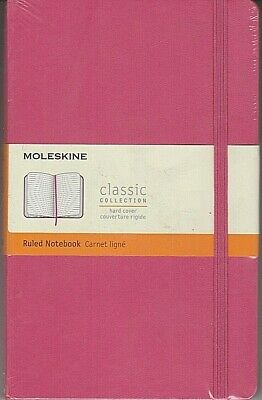 Moleskine Classic Notebook Large Ruled Pink Daisy Hard Cover 5 X 8.25