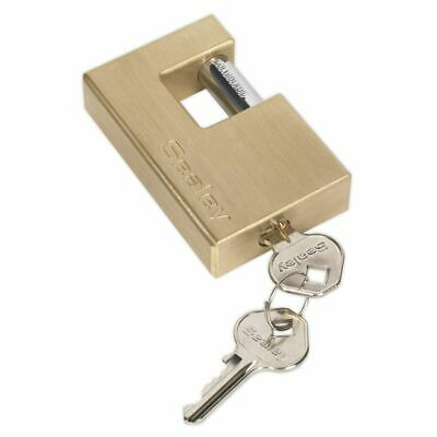 Sealey PL209 Laiton Volet Cadenas 76mm