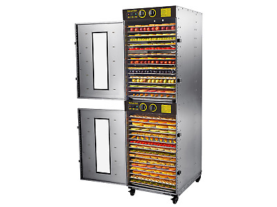 Bench Foods 32-CU Dual Zone Commercial Food Dehydrator | 32 Tray - 5.1m²