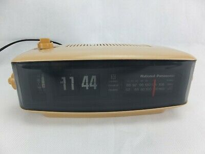 Vintage National Panasonic RC-6001BA Flip Clock Radio, made in Japan