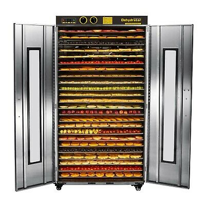 Bench Foods 24-CU Large Commercial Food Dehydrator | 24 Tray - 10.7m²