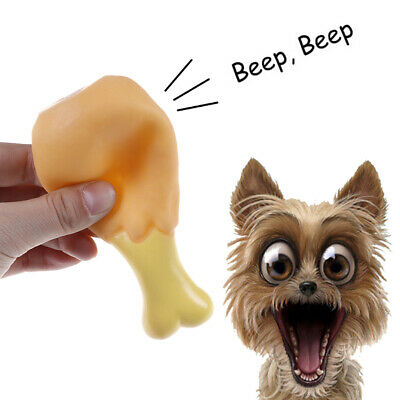 Pet dog puppy toys chicken legs small rubber sound toy dogs chewing squeak soft