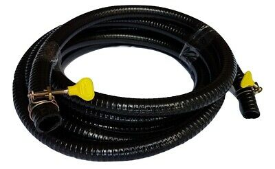 16' or 5 Metres Heavy Duty Pond Hose Tubing All Diameters With Free Clamps