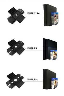 Playstation 4 Accessories Controller Games Tower Dual Charger Storage Rack