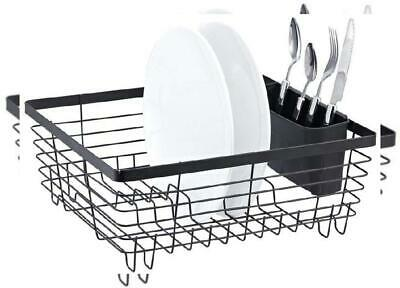 Neat-O Stylish Sturdy Oil Rubbed Bronze Metal Wire Small Dish Drainer Drying...