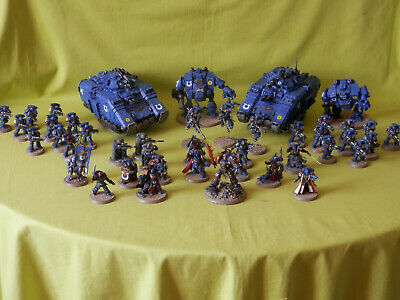 Warhammer 40K Primaris Space Marines Ultra Army - Many Units To Choose From