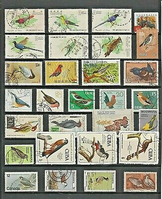 BIRDS Thematic STAMP Collection  Ref:TT72