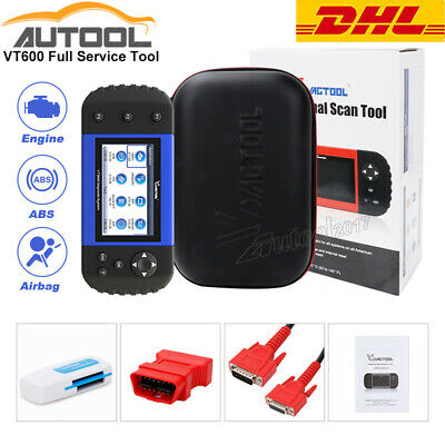 OBD2 SCANNER DIAGNOSTIC ABS SRS EPB DPF Oil Reset Tool for