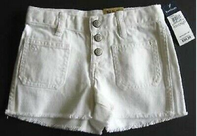 Girls shorts white denim designer age 2 3 4 5 6 7 8 9 10 11 12 13 14 years