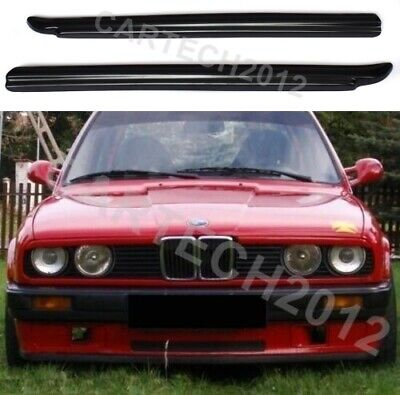 Fits BMW 3 Series E30 Eyebrows Headlight Eyelids ABS PLASTIC, TUNING
