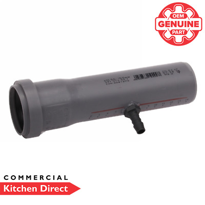 *Genuine Part* Rational Drain Pipe With Nipple - Ultravent - 60.70.735