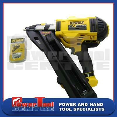 DeWalt Reconditioned DCN693N XR Li-Ion 20v 4Ah Brushless Metal Connector Nailer