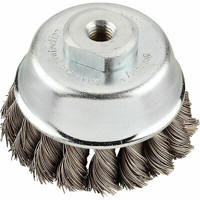 KWB Steel Twist Knot Wire Cup Brush 66mm M14 Thread