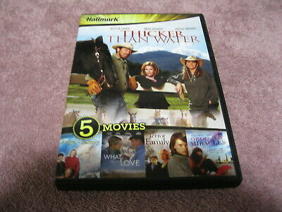 NEW *SEALED* DVD Movie 4 FILMS: THICKER THAN WATER/ ORDINARY