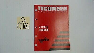 Tecumseh OEM 692508 Technician's Handbook for 2-Cycle Engine