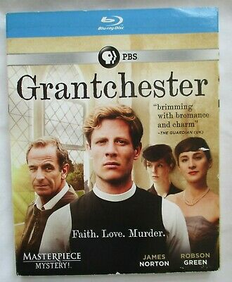 Grantchester Season 1 Pbs Masterpiece Mystery Blu-Ray Disc -  New With Sleeve