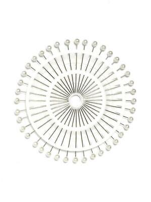 Pearl Head Straight Pins Craft Wedding Dressmaking Flowers