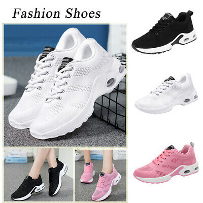 Flyknit Walking Women Mesh Casual Shoes Fitness Sport Sneakers Running Shoes Gym