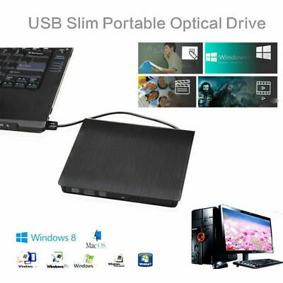 USB 3.0 /2.0 External DVD RW CD RW Drive DVD±RW Drive Burner DVD Rewriter Copier