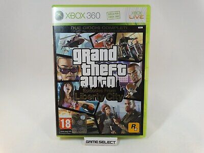 Grand Theft Auto Episodes From Liberty City Gta Iv 4 Xbox 360 Pal Ita Completo