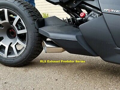 2019 CAN AM Ryker RLS Exhaust Punisher Series Performance