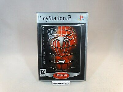 Spider-Man 3 Spiderman Uomo Ragno Sony Ps2 Playstation 2 Pal Italiano Completo