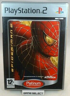 Spider-Man 2 Spiderman Uomo Ragno Sony Ps2 Playstation 2 Pal Italiano Completo