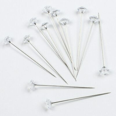 Diamond Wedding Corsage Flower Accessory Pins