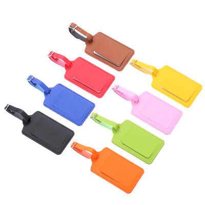 Personality Luggage Tag Suitcase Bag Id Tags Address Label Baggage Card Holder~