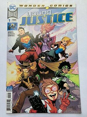 SDCC 2019 Exclusive DC Wonder Comics Young Justice #1 W/ Digital download code