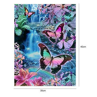 5D DIY Full Drill Diamond Painting Butterfly Cross Stitch Craft Home Wall Decor