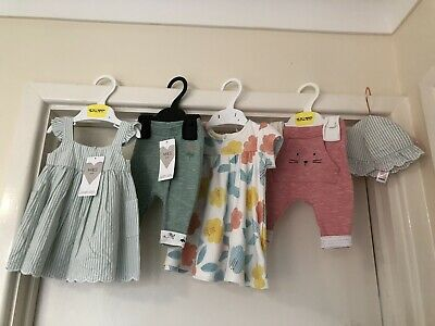 M&S Baby Girl Upto One Month Bundle All Bn Items Marks Spencer 5 Items