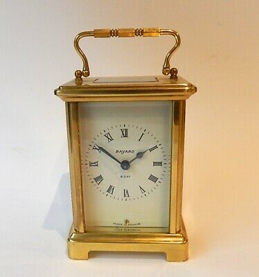 Duverdry & Blouquel French Brass Case Carriage Clock Working 2997