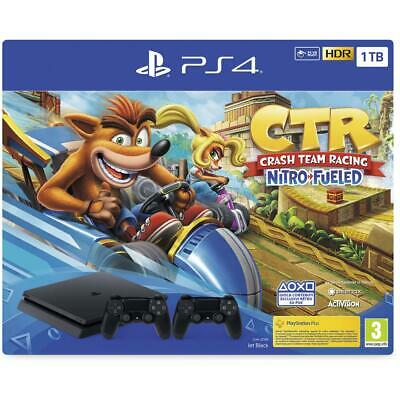 SONY Console PlayStation 4 1TB + Crash Team Racing Nitro Fueled