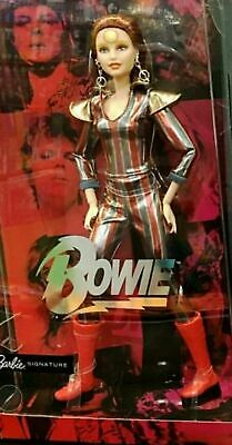 Barbie Doll David Bowie,Available Now,No Waiting! Gold Label,New,Nrfb! $69.00!