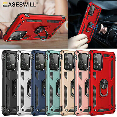 For Samsung Galaxy A10S A70 A50 A40 A30 A20 A10 Case Shockproof Armor Ring Cover