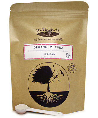 Mucuna Powder | Organic Certified | Mucuna Pruriens | 1 gram Scoop Included